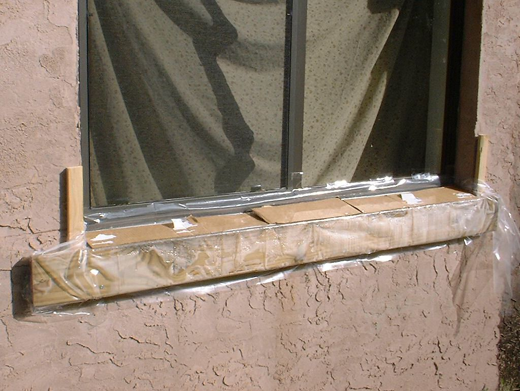 Diy window sill repair diy do it your self for Window sills exterior