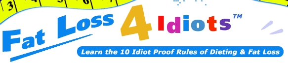 Fat Loss 4 Idiots website banner