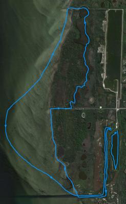 Kurts-pine-island-route