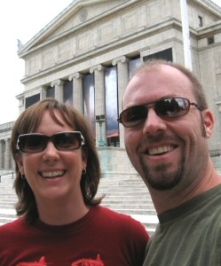[Kurt Leucht and Samantha Leucht 10 year anniversary Chicago trip photo]