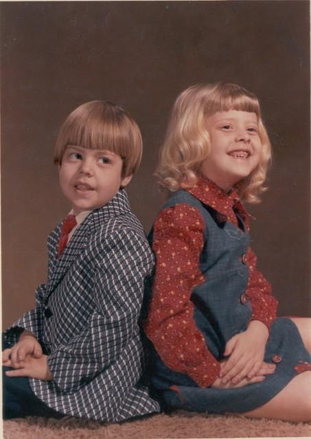 1975-04, Kurt 5yrs, Tina 6.5yrs