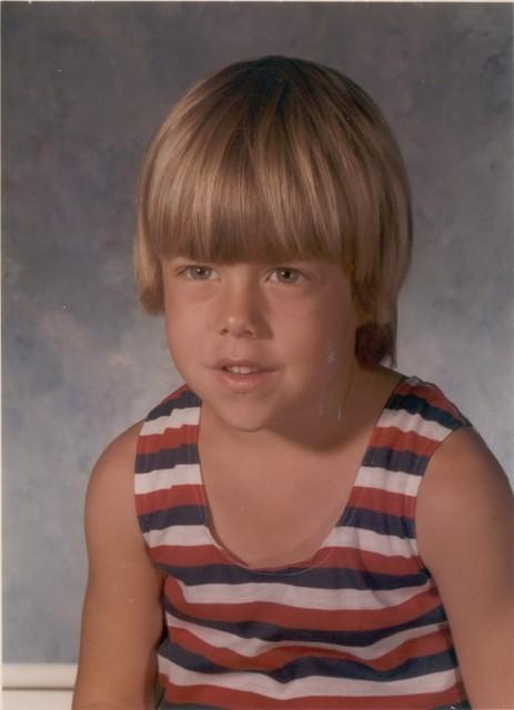 1976-09, Kurt 1st Grade, Age 6, School Year 1976-1977