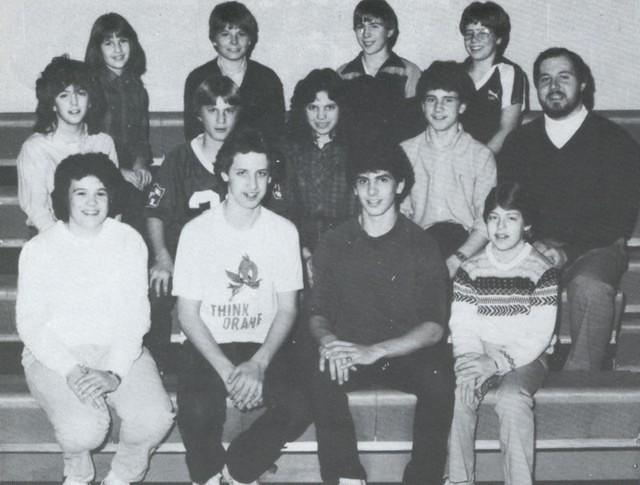 1983-09, Student Council Representatives, Kurt 8th Grade, Age 13, School Year 1983-1984