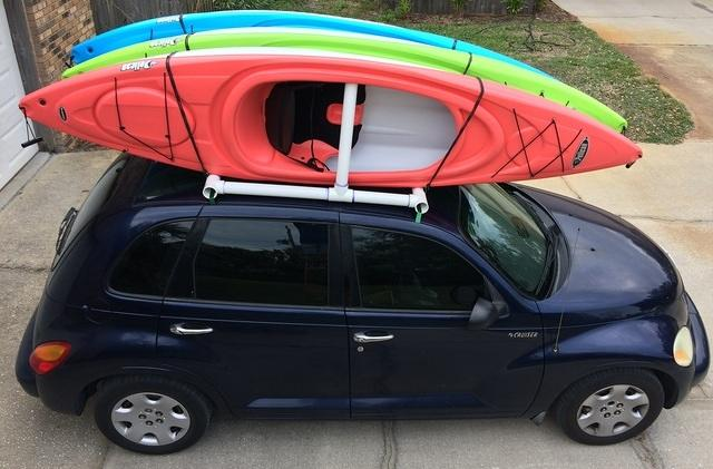 12 - expandable kayak rack