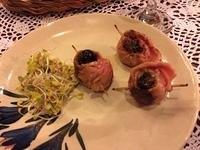 08-baked prunes wrapped in bacon fat