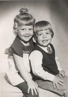 1973-04, Kurt 3yrs, Tina 4.5yrs