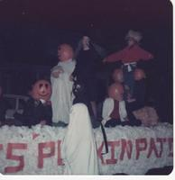Photo from a Halloween parade in Mackinaw Illinois from the early to mid 1970s.  If you recognize anyone in this photo, let Kurt