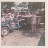 Photo from the Sesqui-Centennial in Mackinaw Illinois from 1976. If you recognize anyone in this photo, let Kurt know and he wil