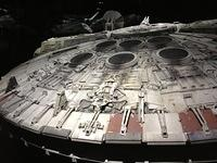 02 - detail of millenium falcon model