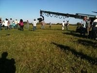 Filming at the KSC Countdown Clock 2